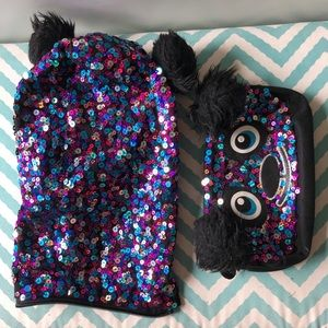 Justice Accessories Sparkly Panda Backpack Poshmark